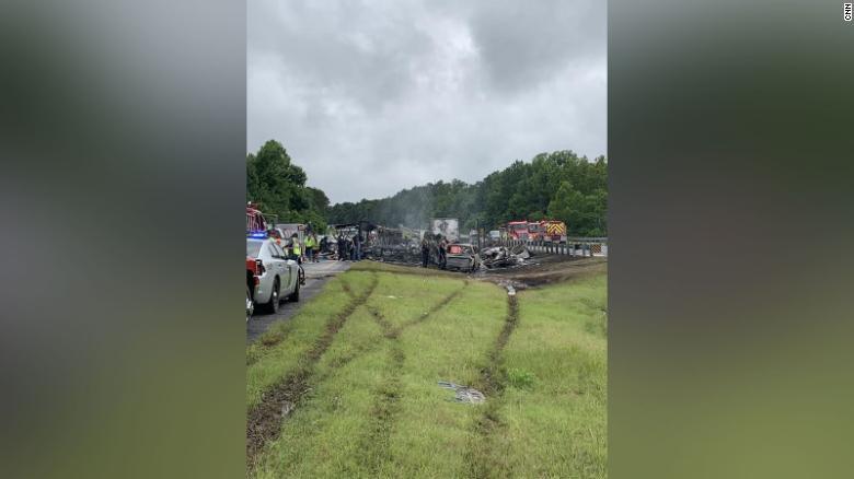 Accidente tráfico Alabama
