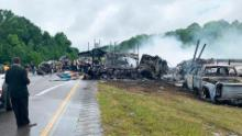 A crash took the lives of one adult and 9 children in Alabama Saturday.