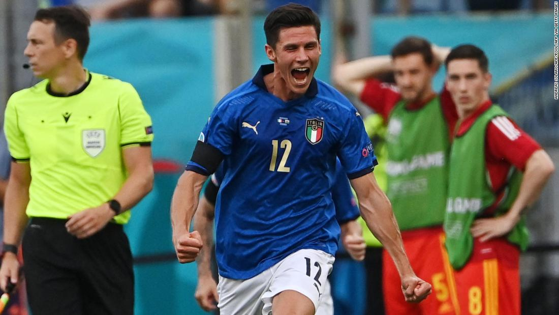 Italy records third victory of Euro 2020 as Wales also reaches knockout stages