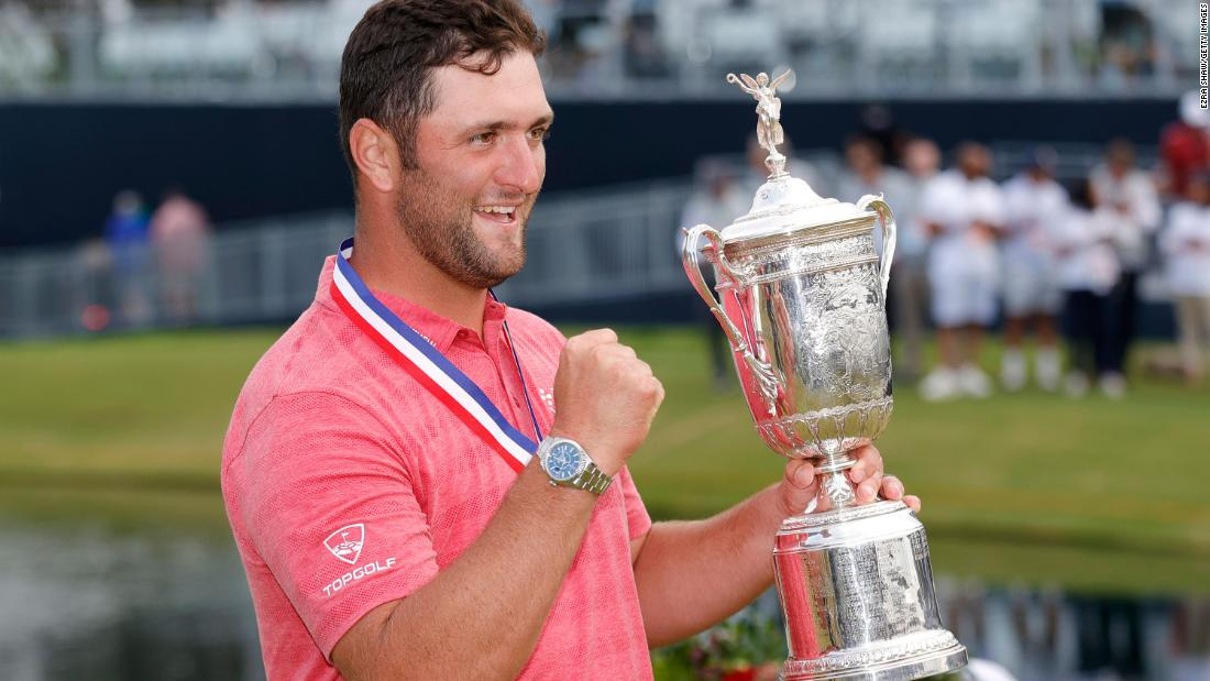 Jon Rahm wins US Open at Torrey Pines on his first Father's Day
