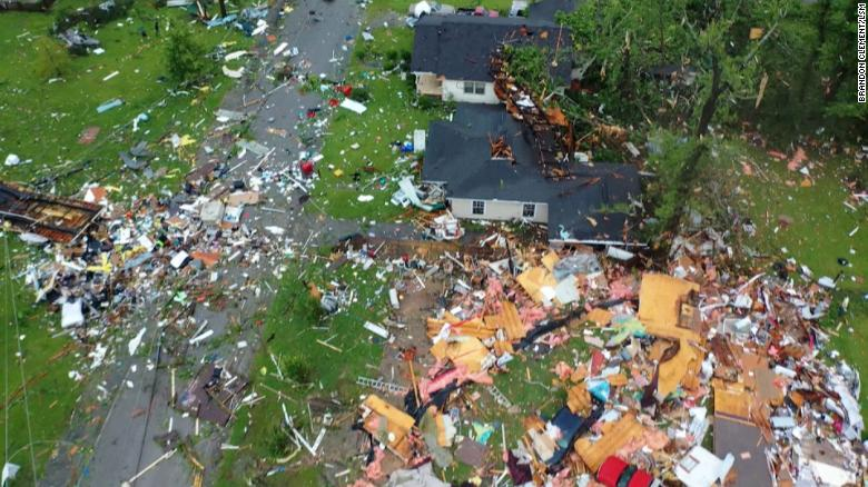 At least 20 people injured in a tornado that tore through southern Alabama