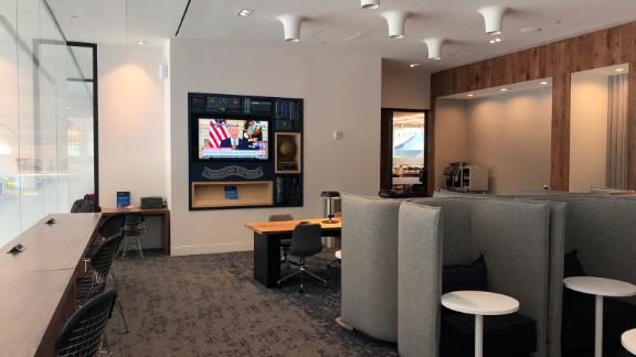 One of the best features of Amex Centurion Lounges are the solo seats.