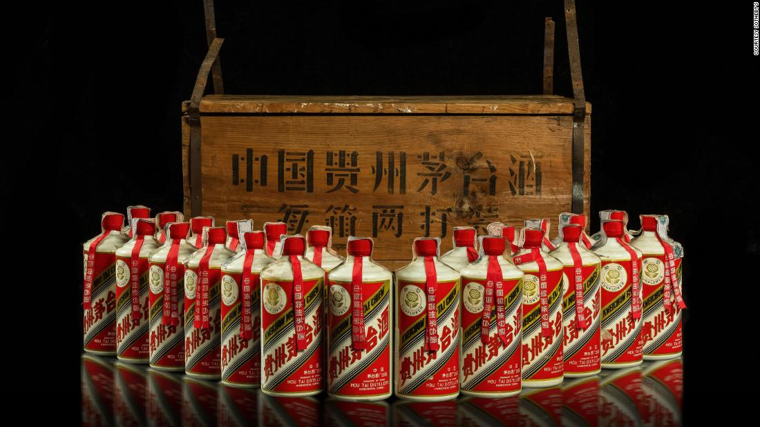 China's most famous liquor fetches nearly $1.4 million at auction