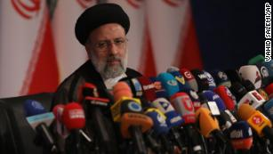 Iran's hardline president-elect Ebrahim Raisi says he will not meet with Biden