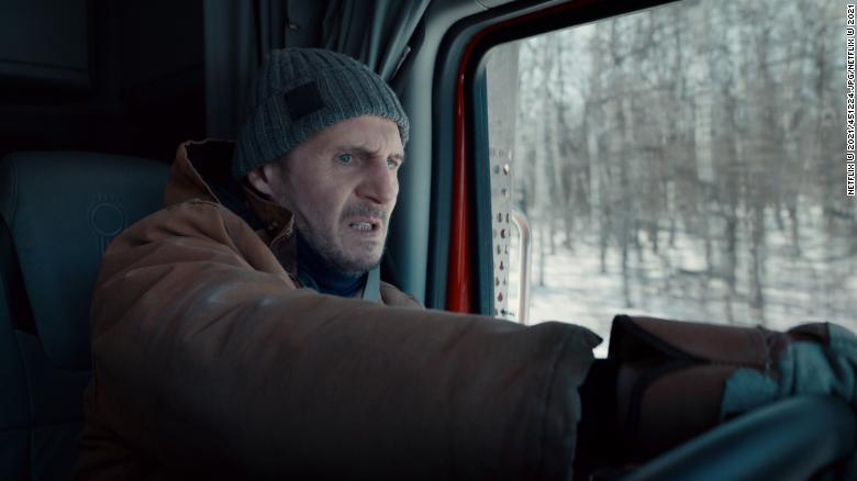 As Liam Neeson hits 'The Ice Road,' maybe it's time to slow down a little