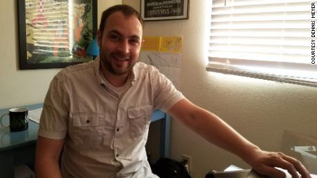 Dennis Meyer, a freelance television producer in Los Angeles, shown at his work-from-home setup.