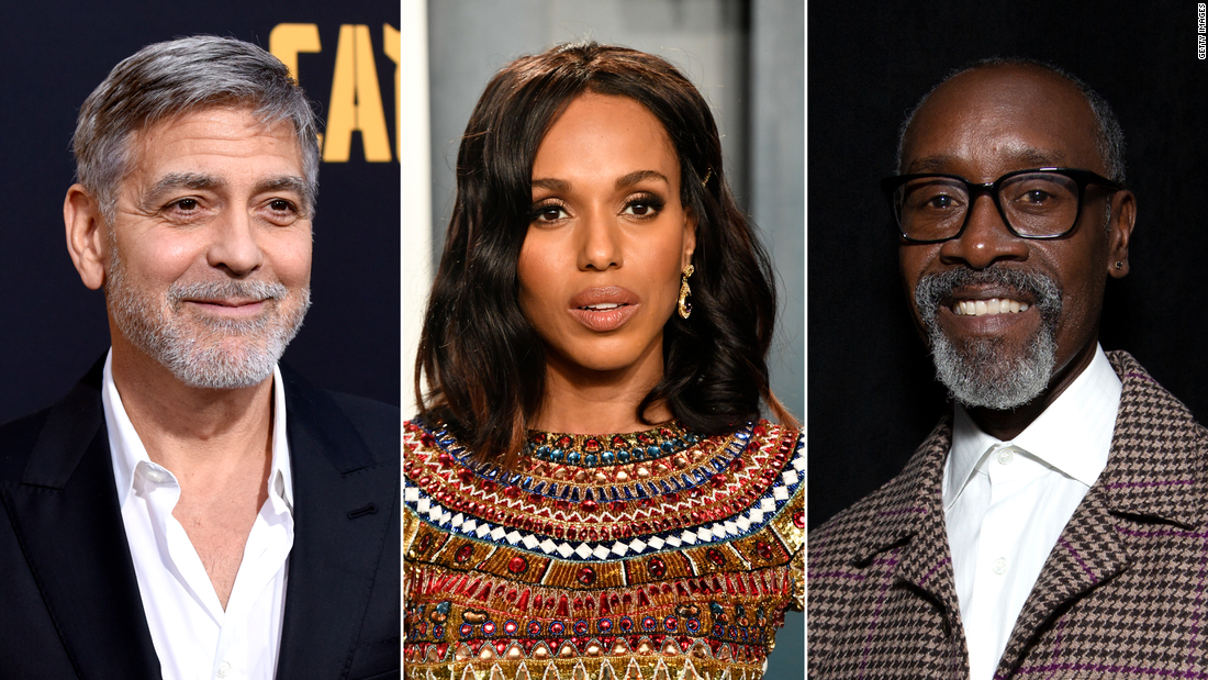 George Clooney, Kerry Washington, Don Cheedle and more back Los Angeles high school aimed at making Hollywood more inclusive