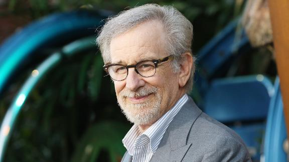 """Steven Spielberg arrives to the Los Angeles premiere of Universal Pictures and Amblin Entertainment's """"Jurassic World: Fallen Kingdom"""" held at Walt Disney Concert Hall on June 12, 2018 in Los Angeles, California."""