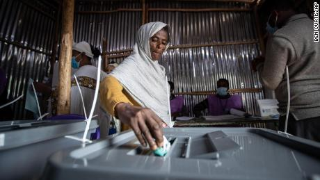 Voting underway in Ethiopia amid conflict and a raging humanitarian crisis