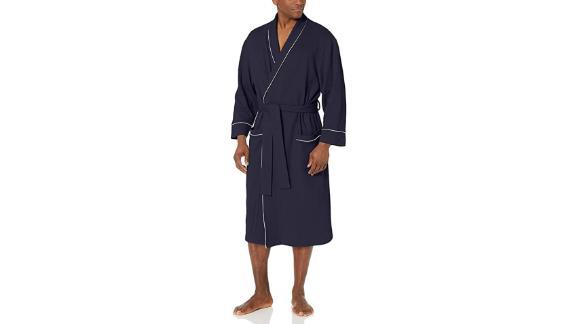 Amazon Essentials Waffle Shawl Robe