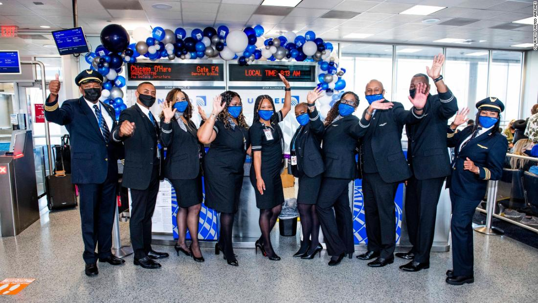 All-Black flight crew commemorates Juneteenth