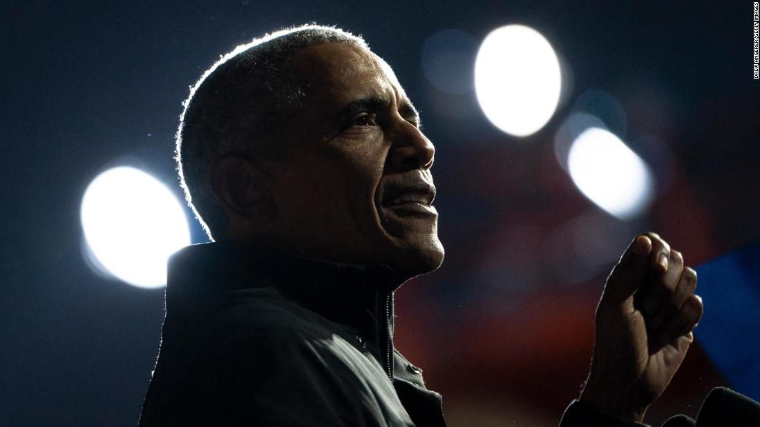 Obama invokes January 6 insurrection to advocate for voting rights bill