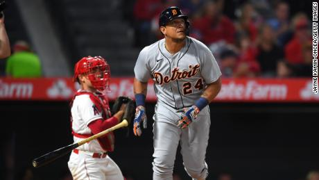 Miguel Cabrera of the Detroit Tigers has helped promote Covid-19 vaccines.