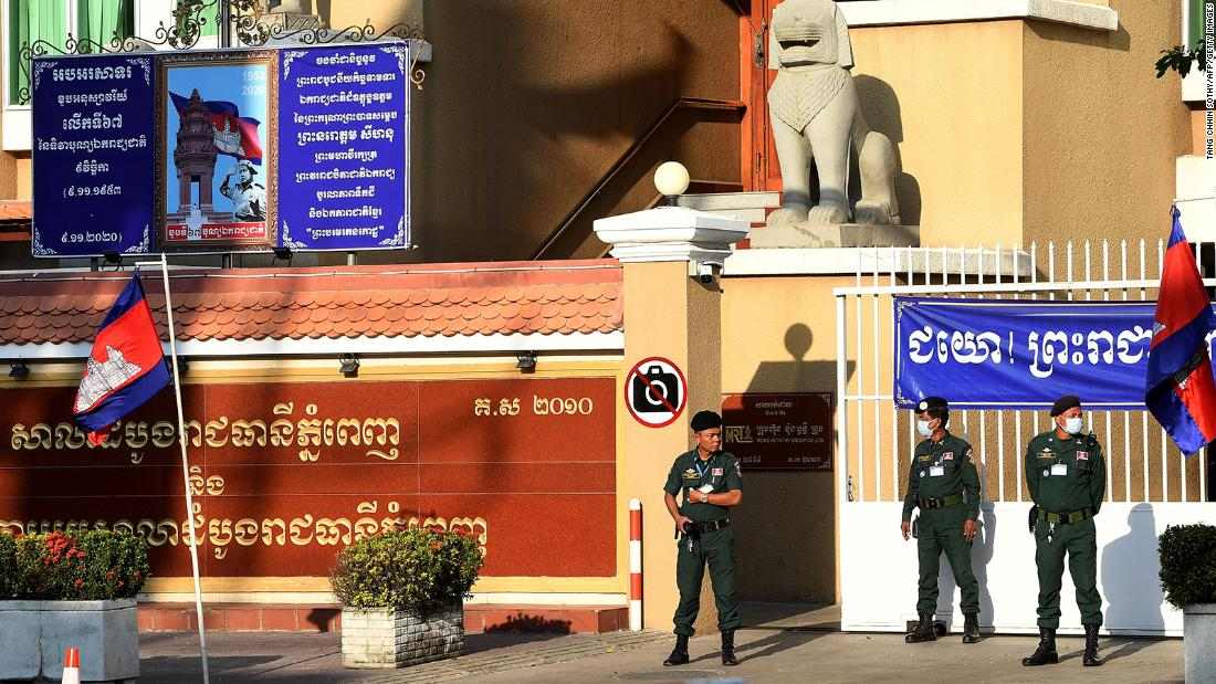 Cambodia charges environmentalists with plotting and insulting king