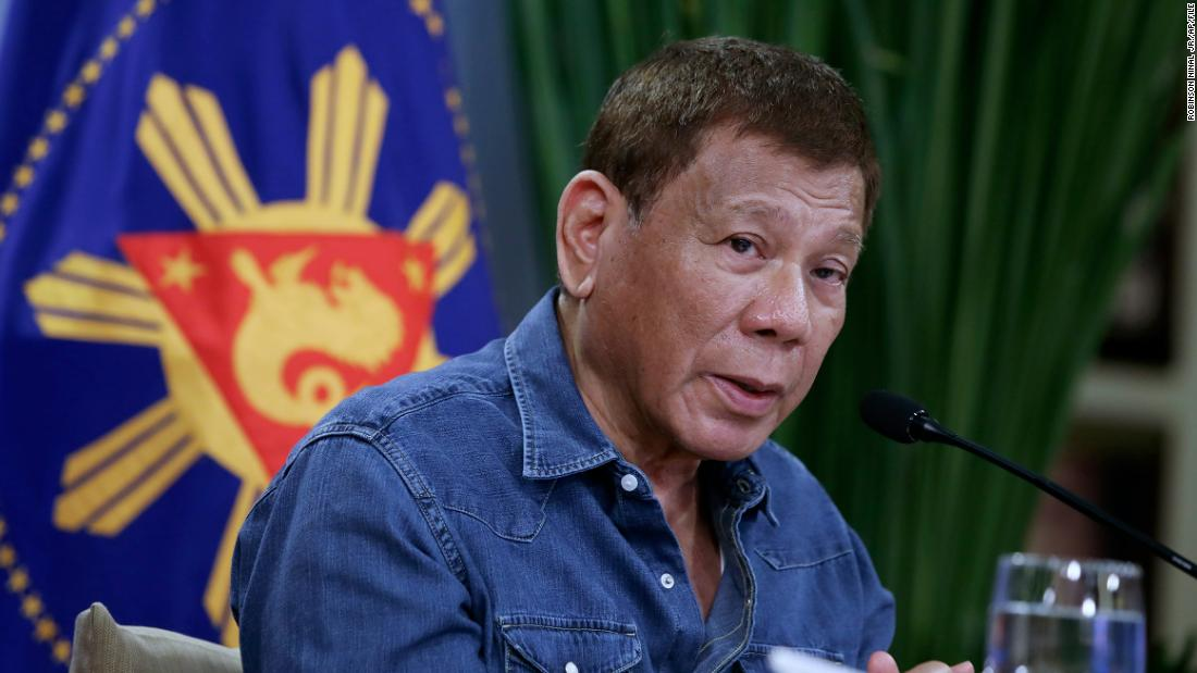 Philippine President threatens to jail those who refuse Covid-19 vaccine