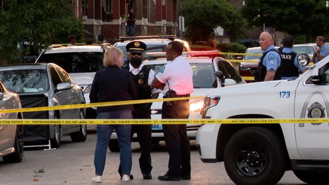 Three people were killed and four injured in a shooting in St. Louis