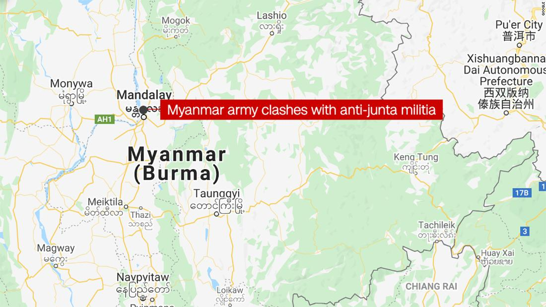 Army clashes with anti-junta militia