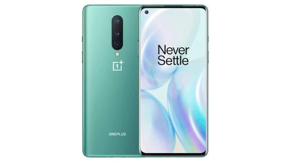 OnePlus 8 Glacial Green, 5G Unlocked Android Smartphone