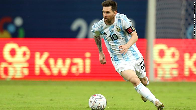 Lionel Messi equals Argentina's all-time appearance record … and signs fan's incredible tattoo