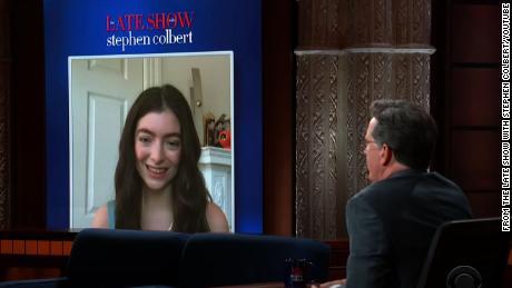 Lorde parle de son nouvel album sur 'The Late Show With Stephen Colbert'