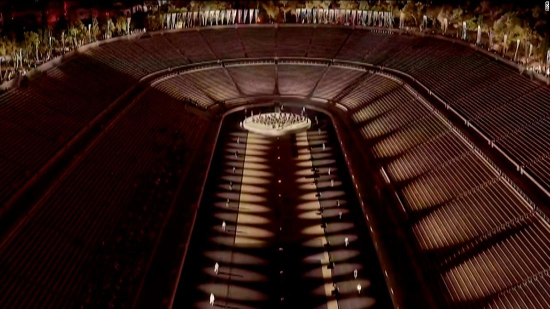 Watch Dior's catwalk at 2,000-year-old Athens stadium