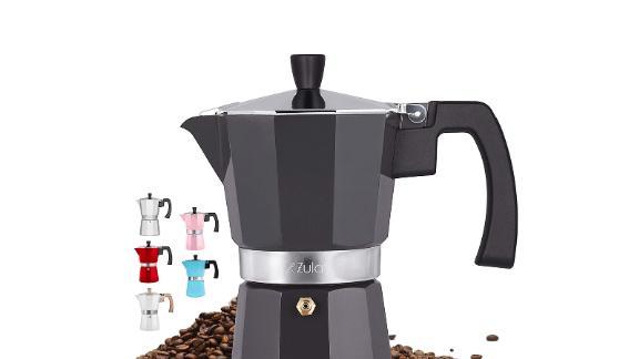 Zulay Classic Stovetop Espresso Maker