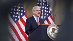 Attorney general says he doesn't want to prejudge career prosecutors who were part of Trump administration