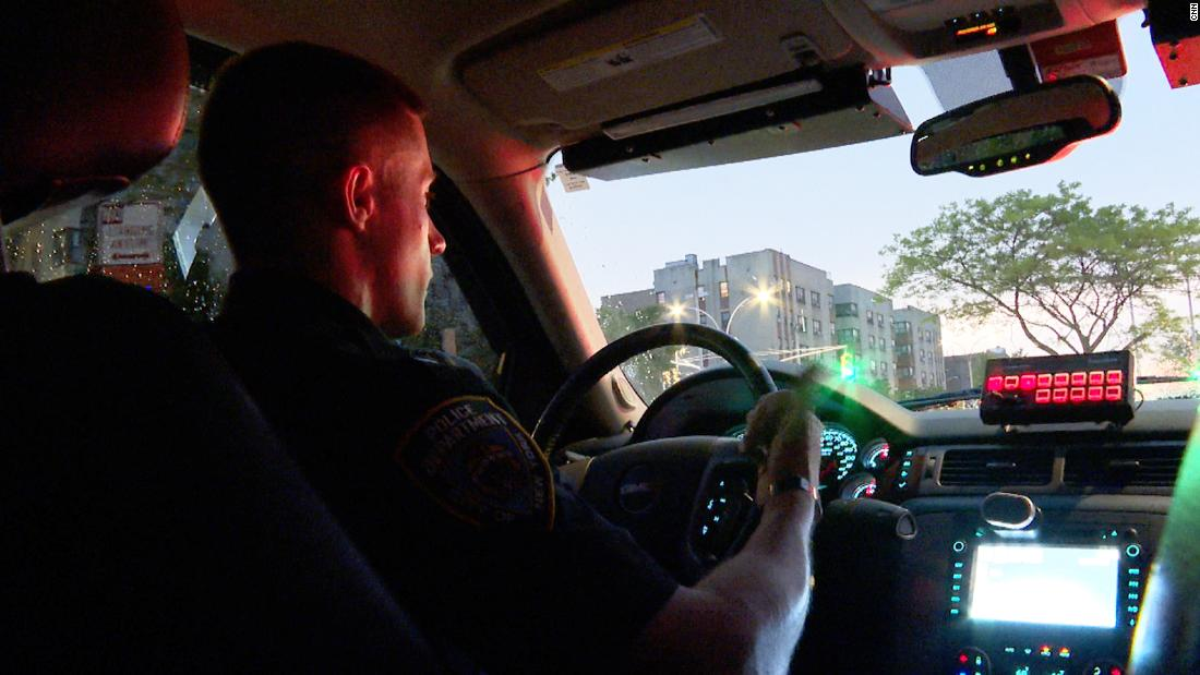 CNN spent two nights on patrol with the NYPD. Here's what they told us about spiking crime in the city.