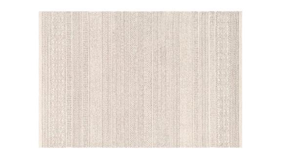 Abdera Geometric Handmade Tufted Area Rug Rectangle 8' x 10'