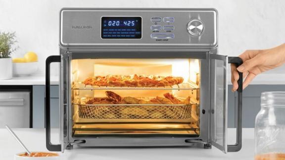 Kalorik 26 Quart Digital Air Fryer Oven, Stainless Steel