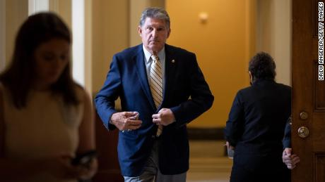 Joe Manchin says he's 'very, very' disturbed about reconciliation proposals on climate change