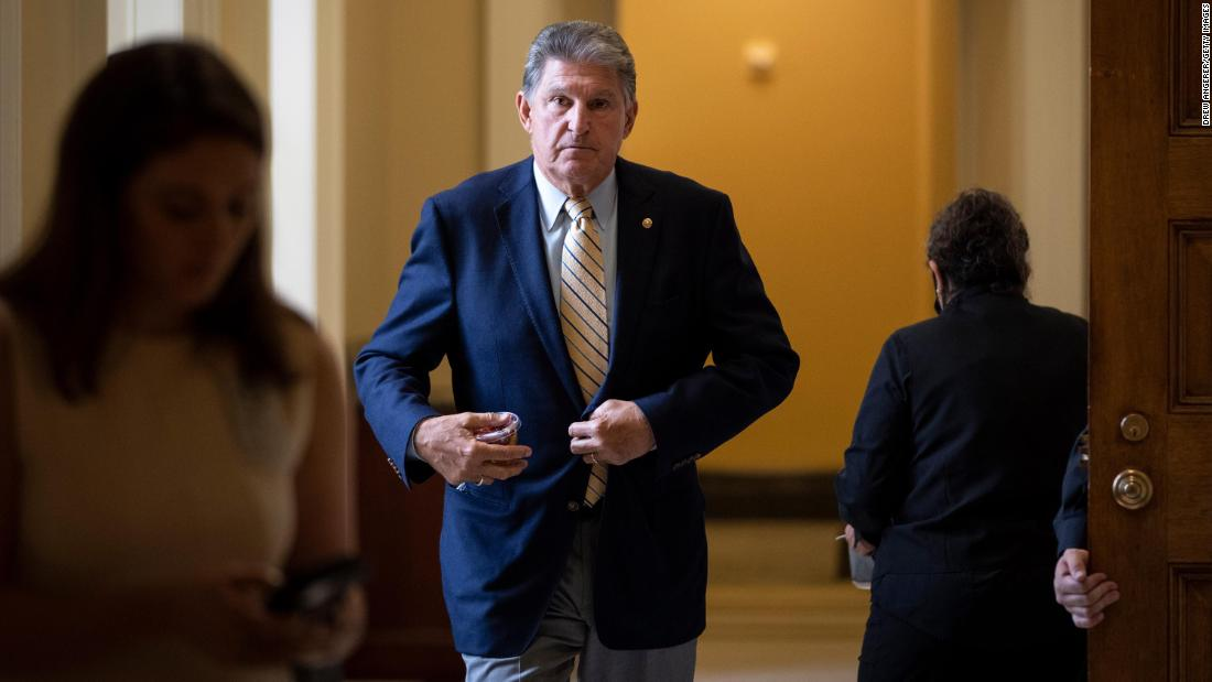 Manchin lays out long list of demands as key Senate chairs move to win his vote – CNN