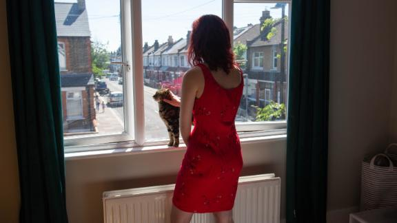Kitty Grew, 27, says that during lockdown her anxiety and agoraphobia, which she had largely managed before, worsened.