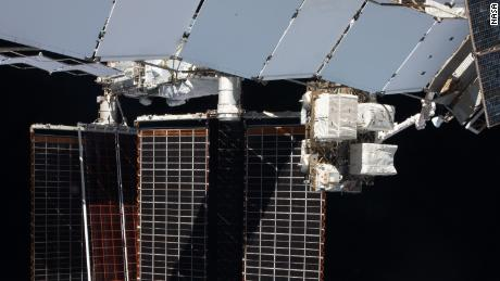 The astronauts installed one new ISS Roll-Out Solar Array on June 20.