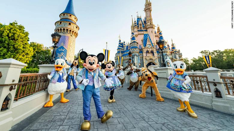 Disney World announces new events for 50th anniversary