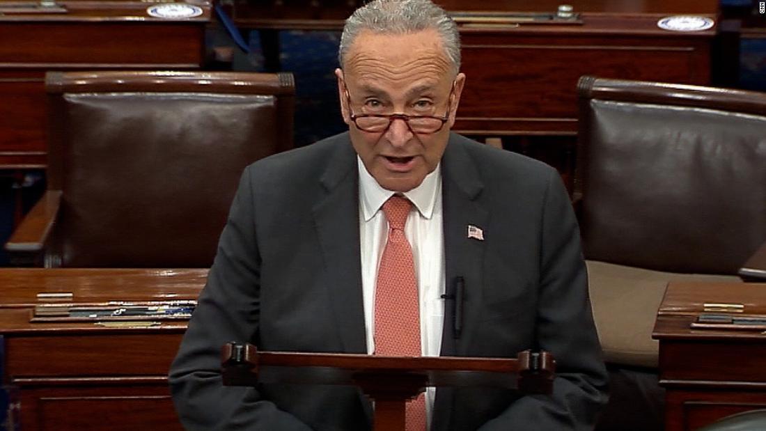 'Ridiculous': Schumer slams Republicans for blocking bill