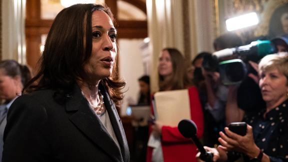 Kamala Harris looks to turn the page as she zeroes-in on voting rights