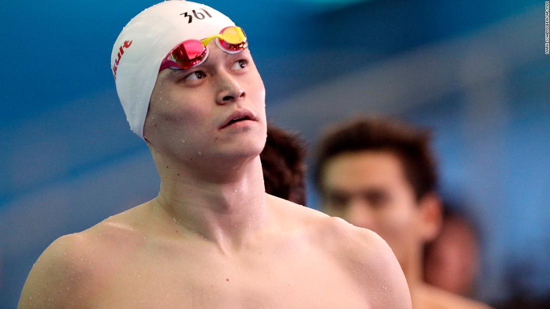 China's Sun Yang has doping ban reduced but will still miss Tokyo Olympics