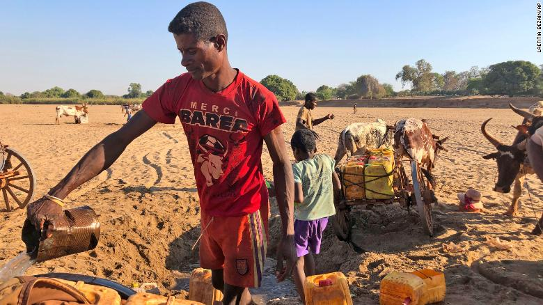 Climate change has pushed a million people in Madasgacar to the 'edge of starvation,' UN says