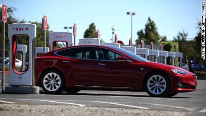 Tesla car 0923 FILE