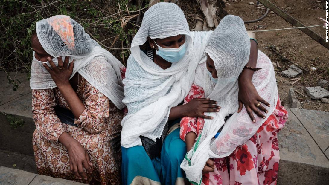 Airstrike kills up to 30 people at market in war-torn Ethiopian region of Tigray
