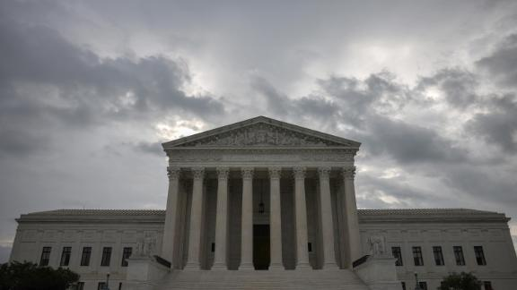The U.S. Supreme Court is shown on June 22, 2021 in Washington, DC.