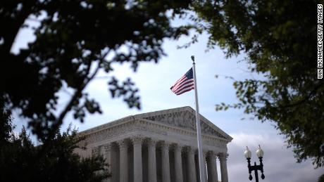 The U.S. Supreme Court is shown June 21, 2021 in Washington, DC.