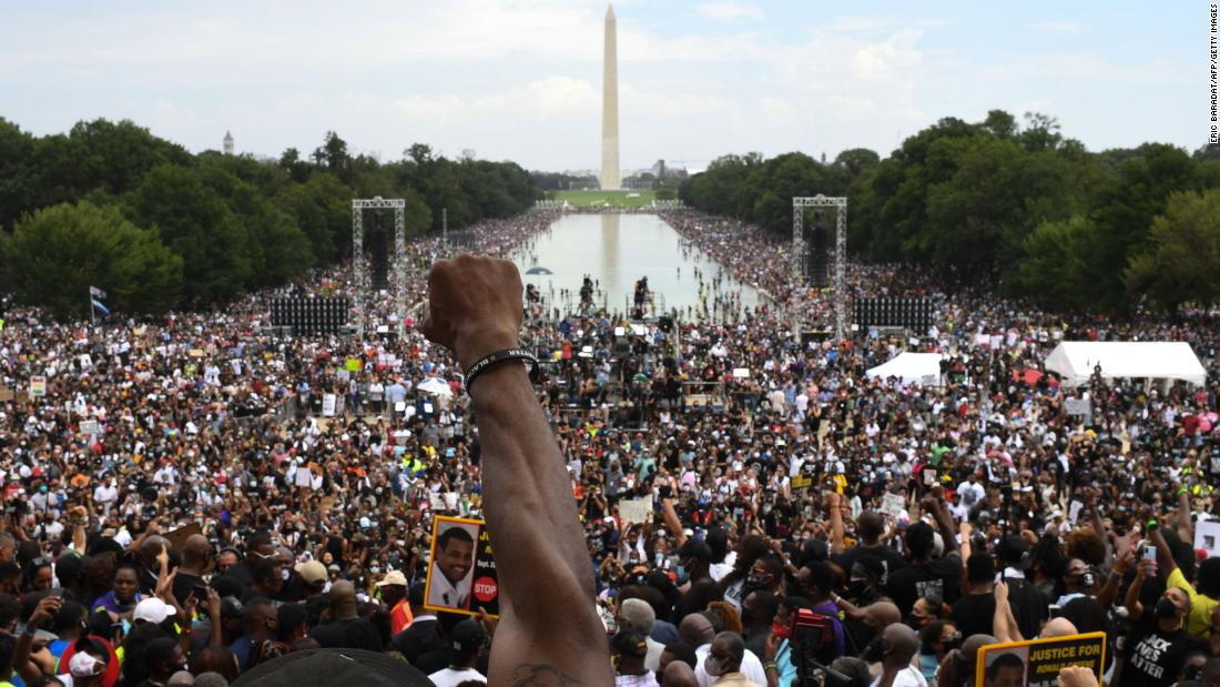 Civil rights leaders announce another March on Washington after voting rights bill fails in Senate
