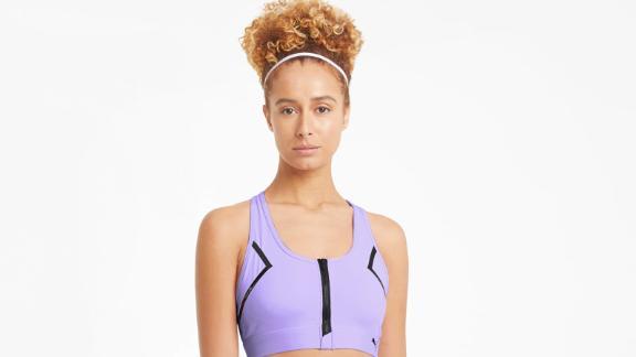 Front Zip Women's High Impact Bra