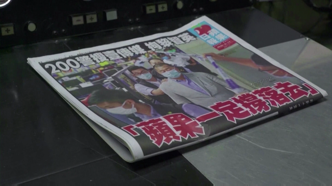 What a tabloid's fate says about a Hong Kong's political future