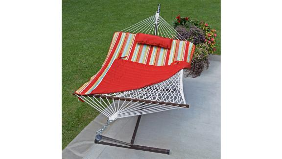 Arlmont & Co. Cambria Spreader Bar Hammock with Stand