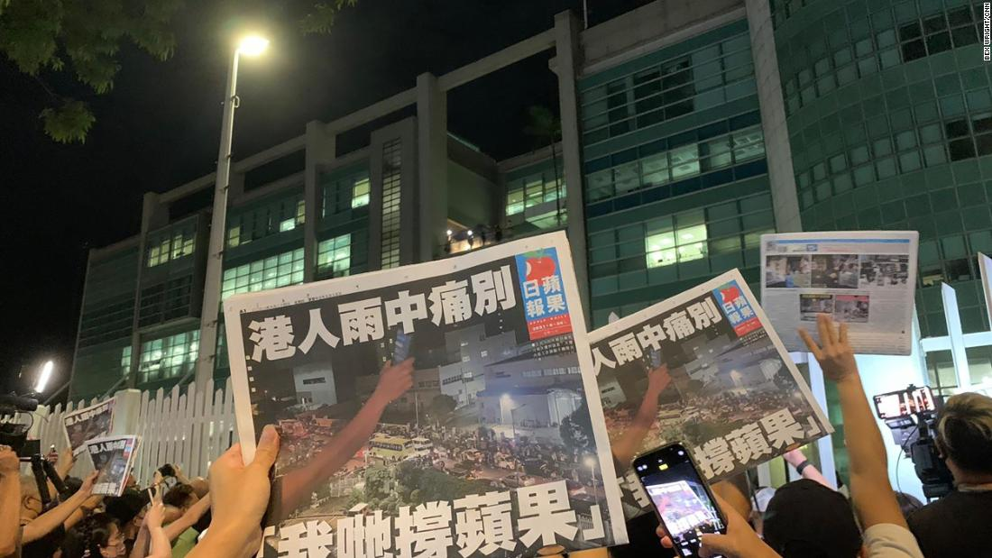 Analysis: The symbolism of Hong Kong's Apple Daily