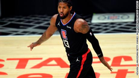 The Clippers' Paul George