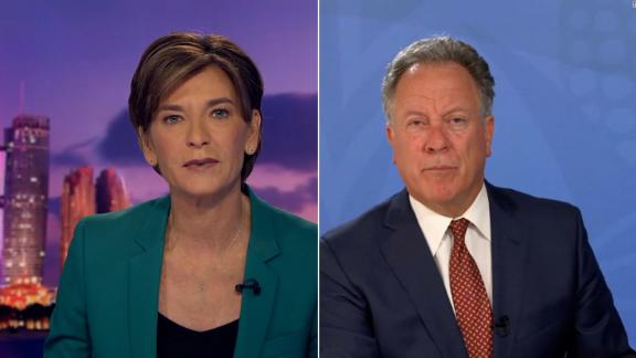 CNN's Becky Anderson speaks with WFP executive director David Beasley about the situation in southern Madagascar.